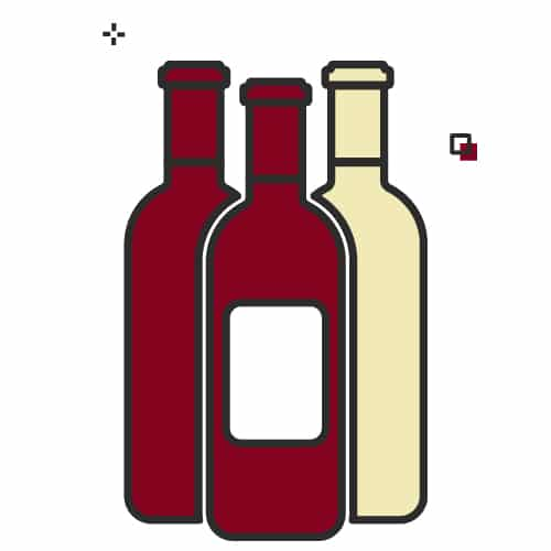 Mostly red wines