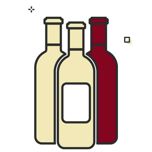 Mostly white wines