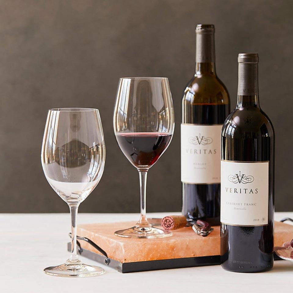 Veritas Winery wines